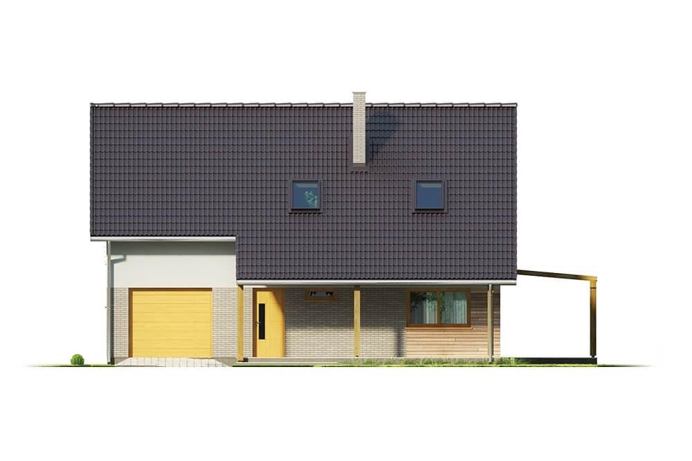 Projekt domu DM-6631 - elewacja