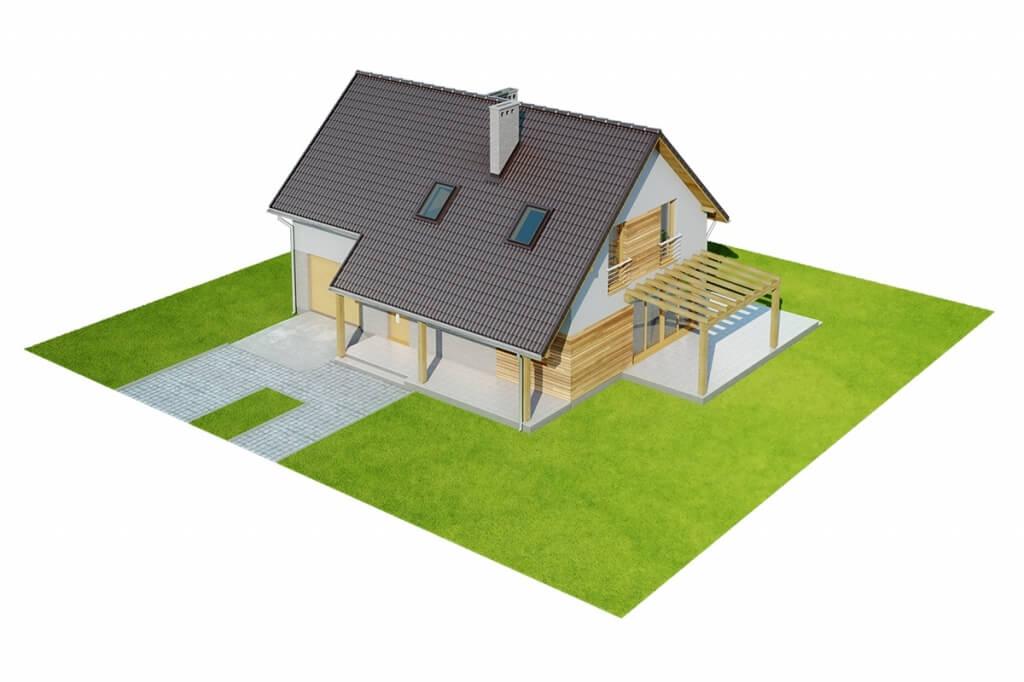 Projekt domu DM-6631 - model
