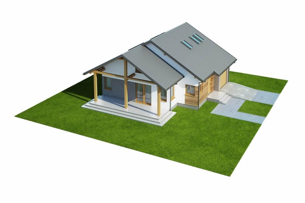 Projekt domu DM-6629 - model