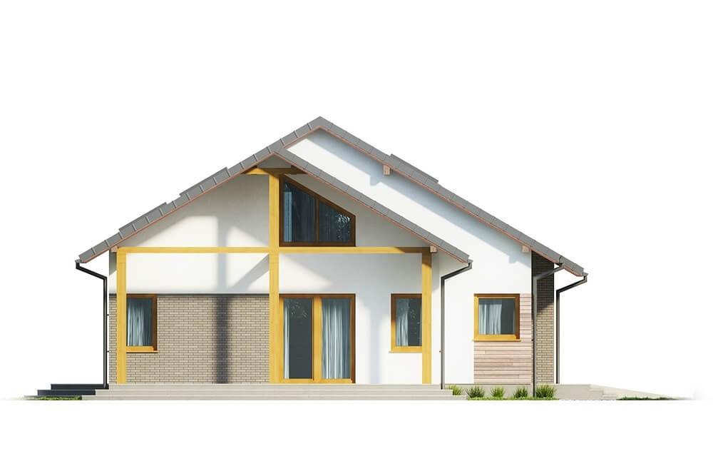 Projekt domu DM-6629 - elewacja