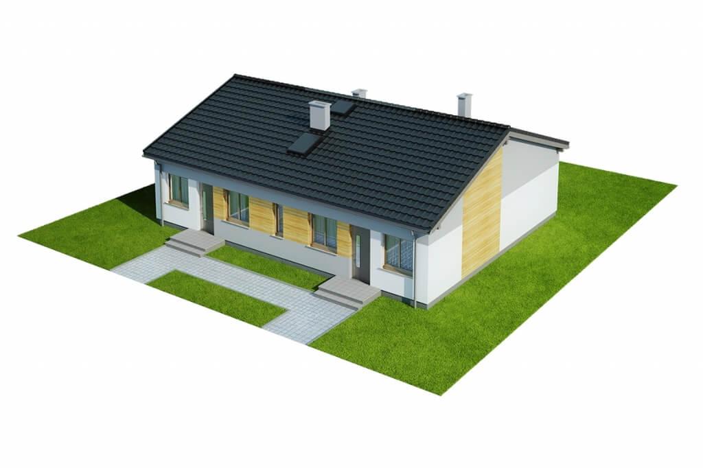 Projekt domu DM-6639 - model