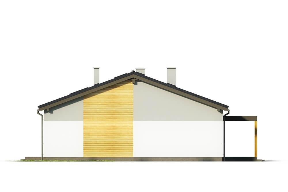 Projekt domu DM-6639 - elewacja