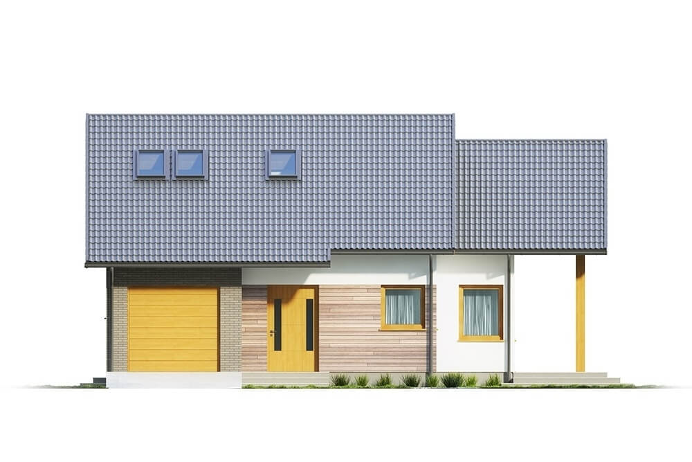 Projekt domu L-6629 - elewacja