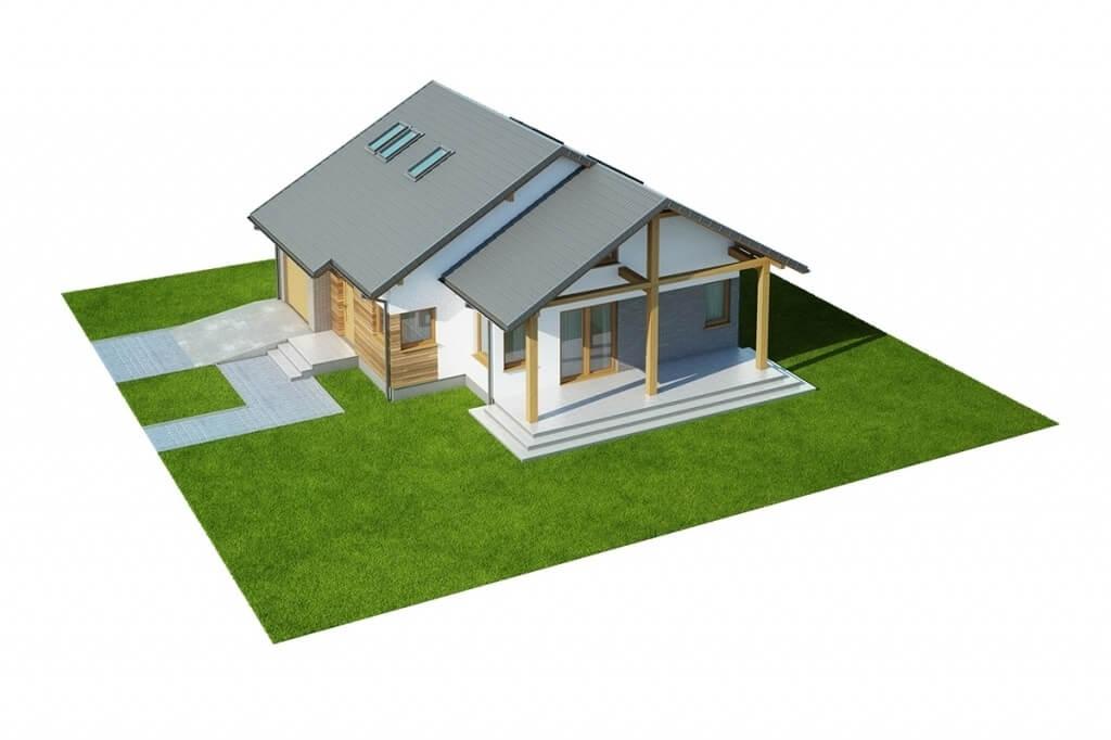 Projekt domu L-6629 - model