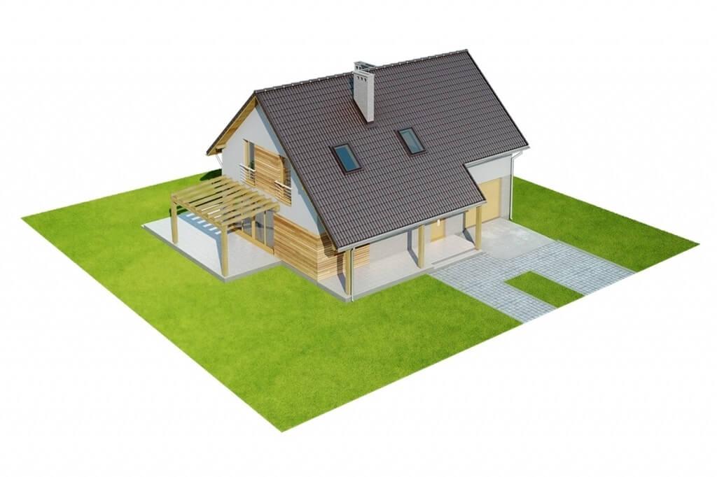 Projekt domu L-6631 - model