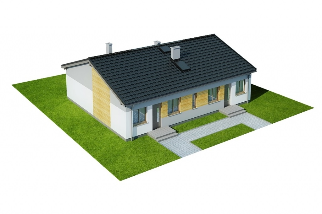 Projekt domu L-6639 - model