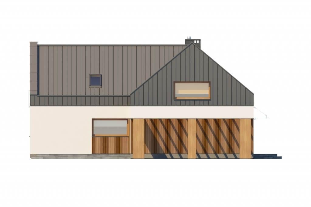 Projekt domu L-6528 - elewacja