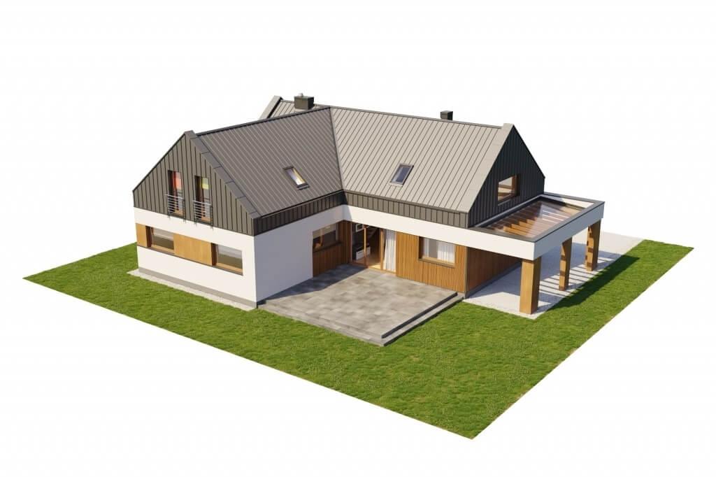 Projekt domu L-6528 - model