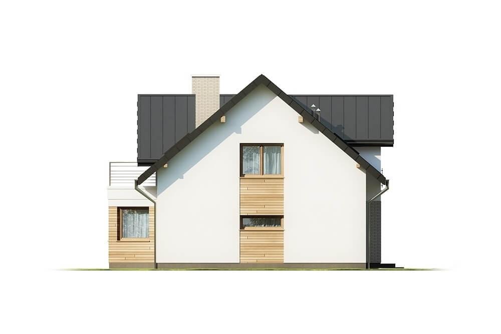 Projekt domu L-6618 - elewacja