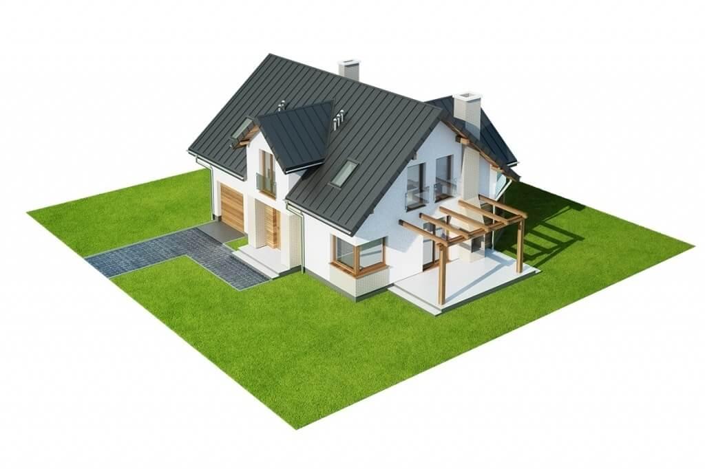Projekt domu L-6618 - model