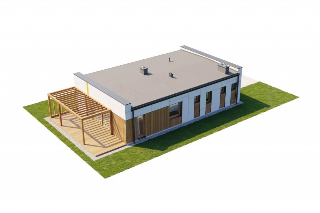 Projekt domu L-6636 - model