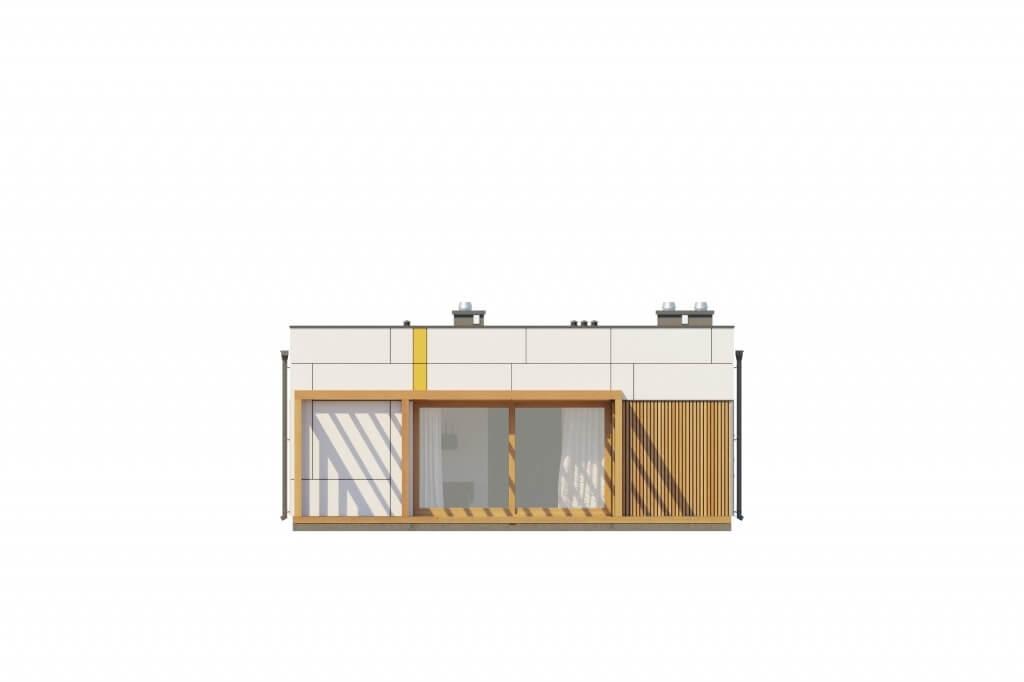 Projekt domu L-6636 - elewacja