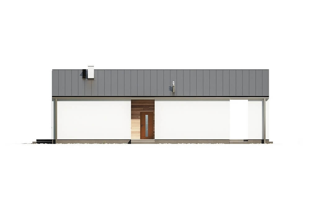 Projekt domu L-6622 - elewacja