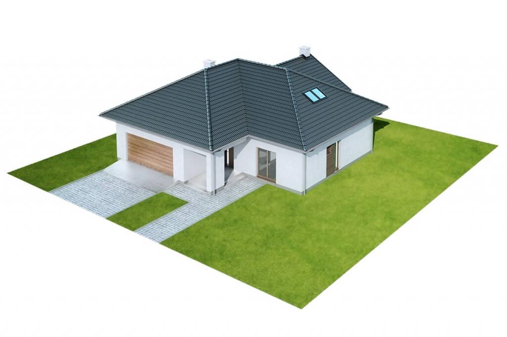 Projekt domu DM-6628 - model