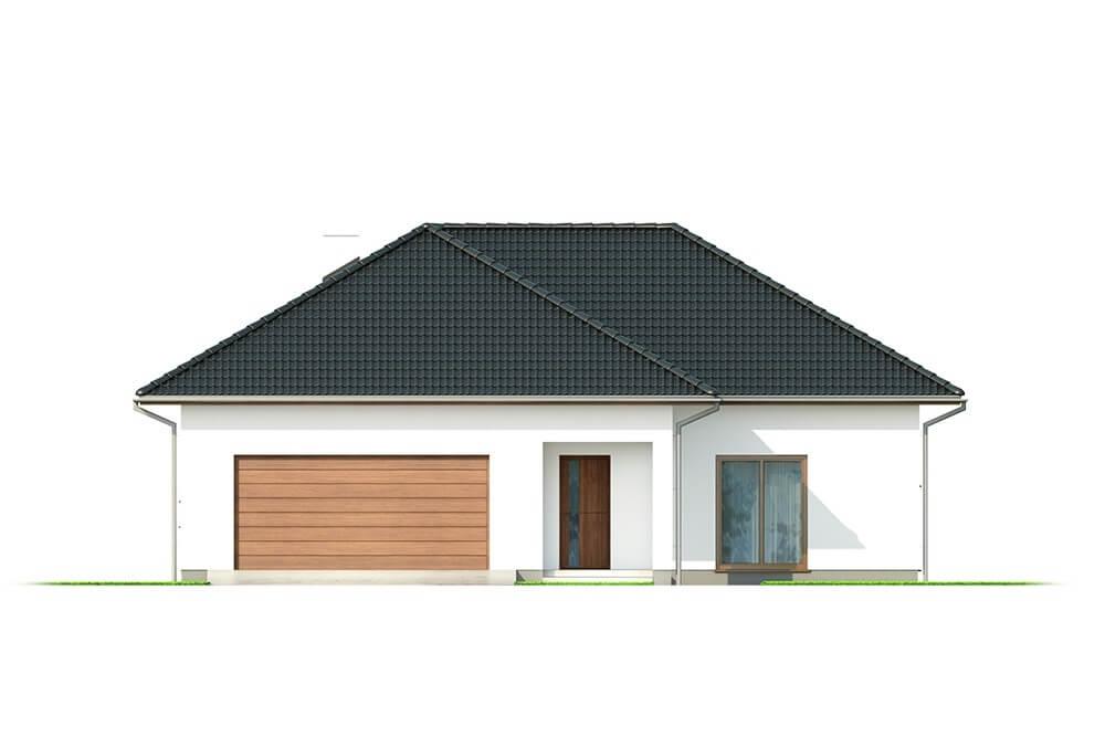Projekt domu DM-6628 - elewacja