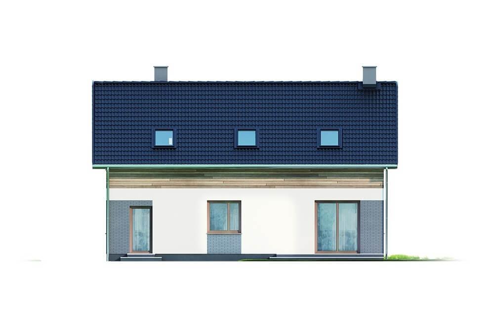 Projekt domu DM-6630 - elewacja