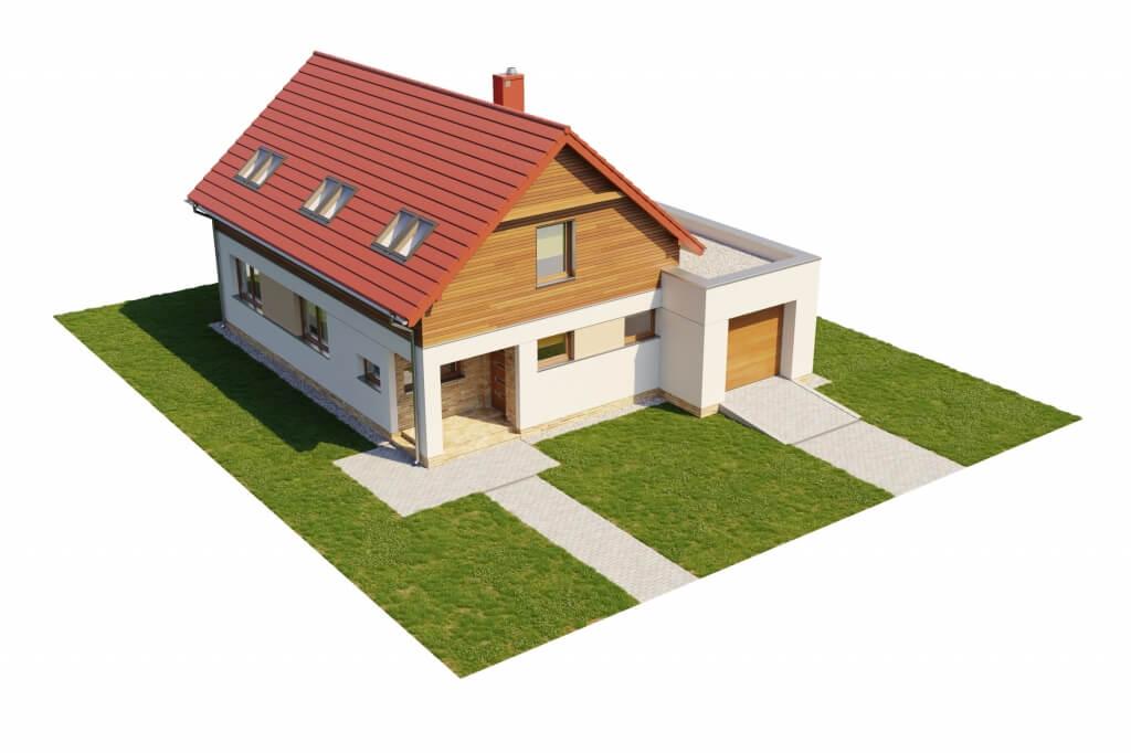 Projekt domu DM-6640 - model