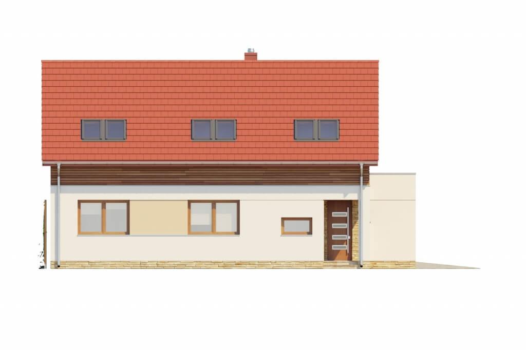 Projekt domu DM-6640 - elewacja