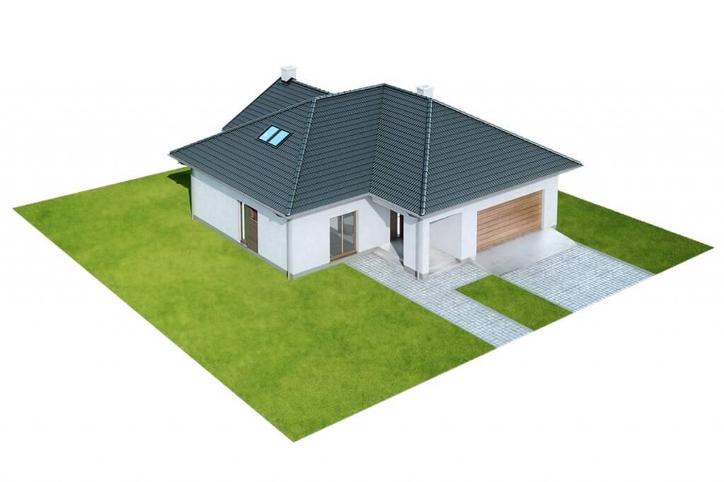 Projekt domu L-6628 - model