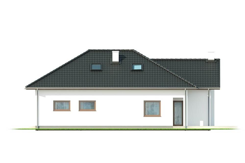 Projekt domu L-6628 - elewacja