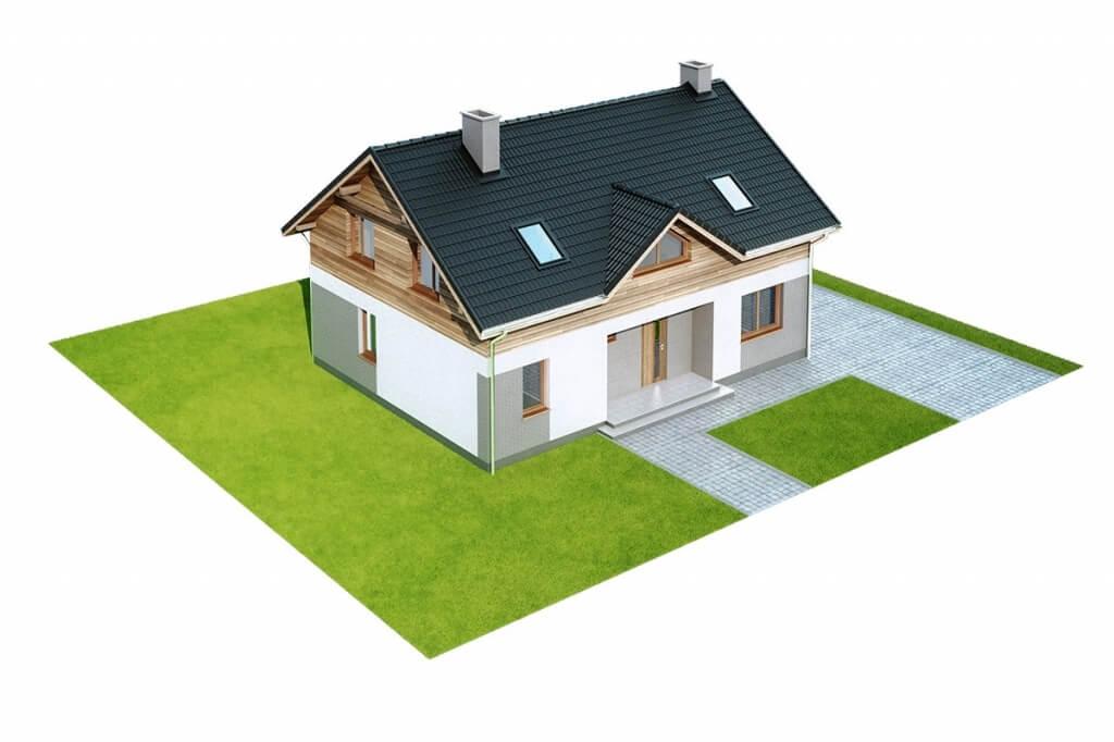 Projekt domu L-6630 - model
