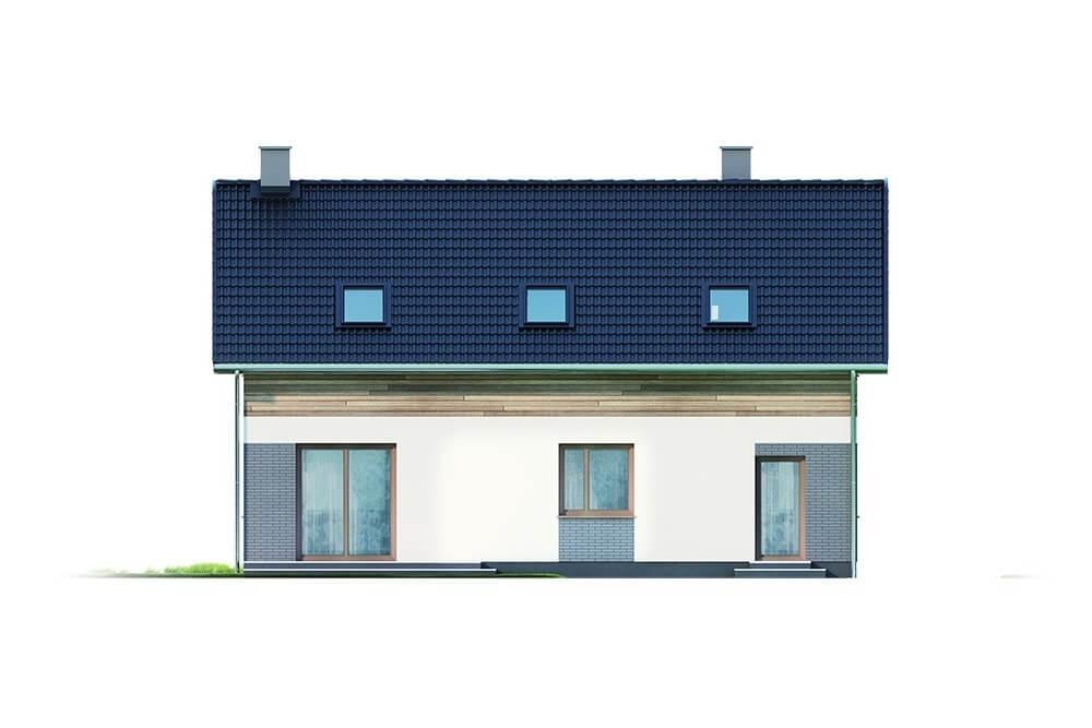 Projekt domu L-6630 - elewacja