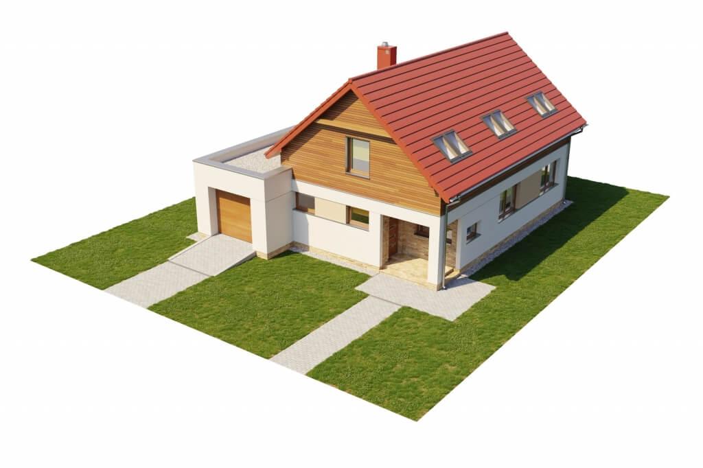Projekt domu L-6640 - model