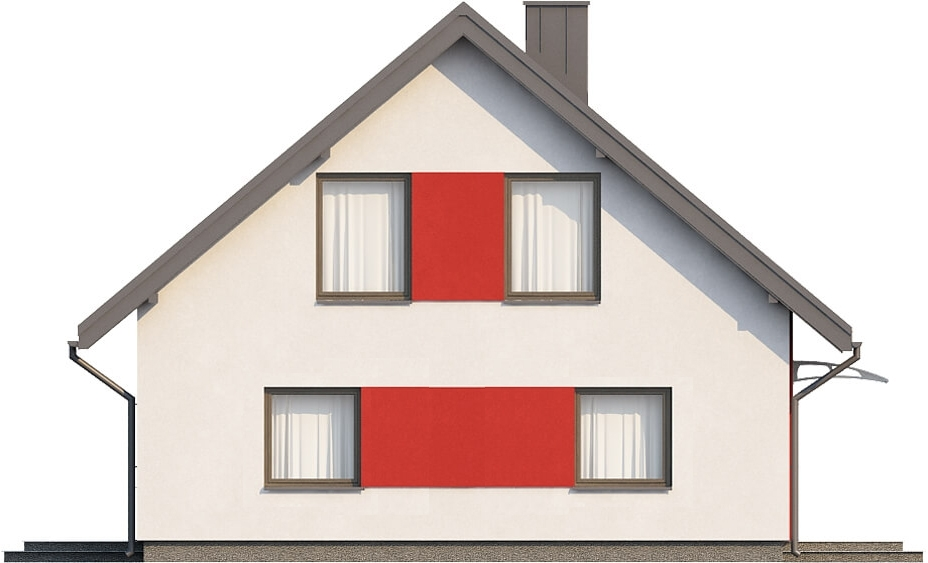 Projekt domu DM-6519 - elewacja