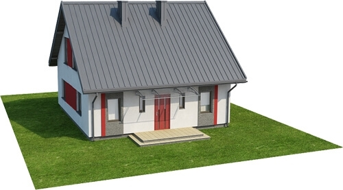 Projekt domu DM-6519 - model