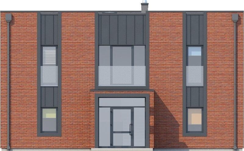 Projekt domu L-6589 - elewacja
