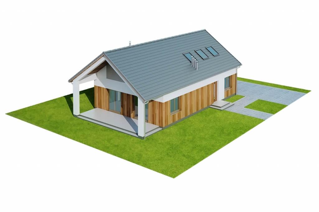 Projekt domu DM-6638 - model