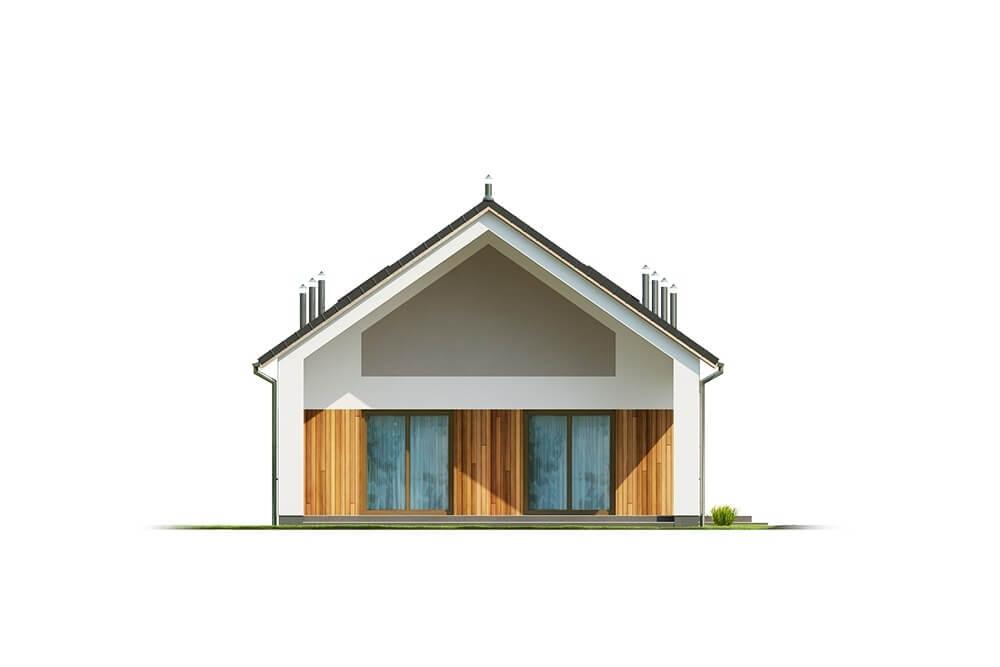 Projekt domu DM-6638 - elewacja