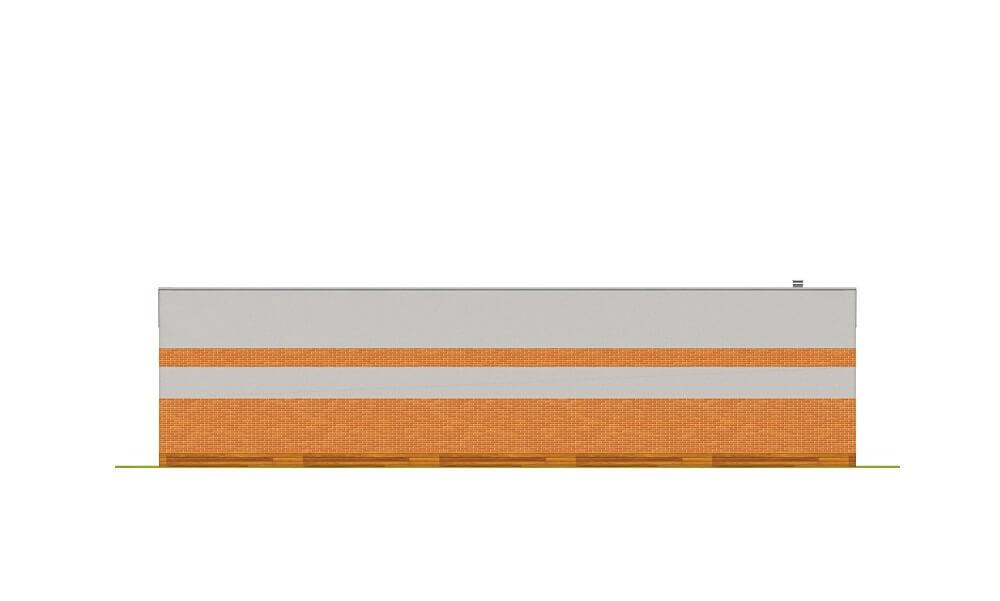 Projekt ZG-98 - elewacja