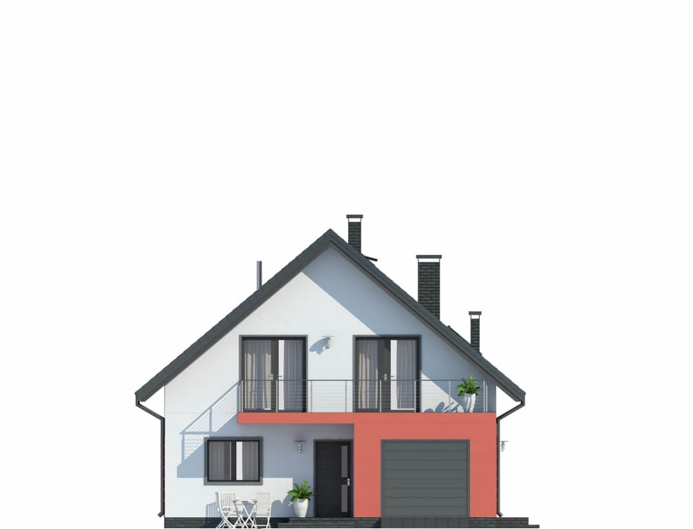 Projekt domu DM-6623 - elewacja