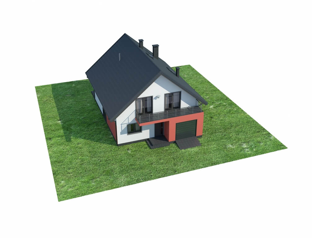 Projekt domu DM-6623 - model