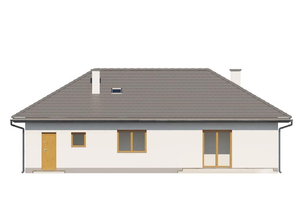 Projekt domu DM-6625 - elewacja