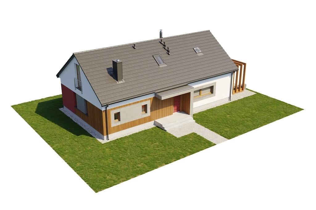 Projekt domu DM-6645 - model
