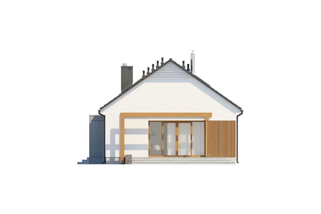 Projekt domu DM-6645 - elewacja