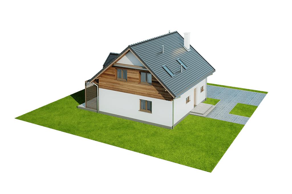 Projekt domu DM-6642 - model