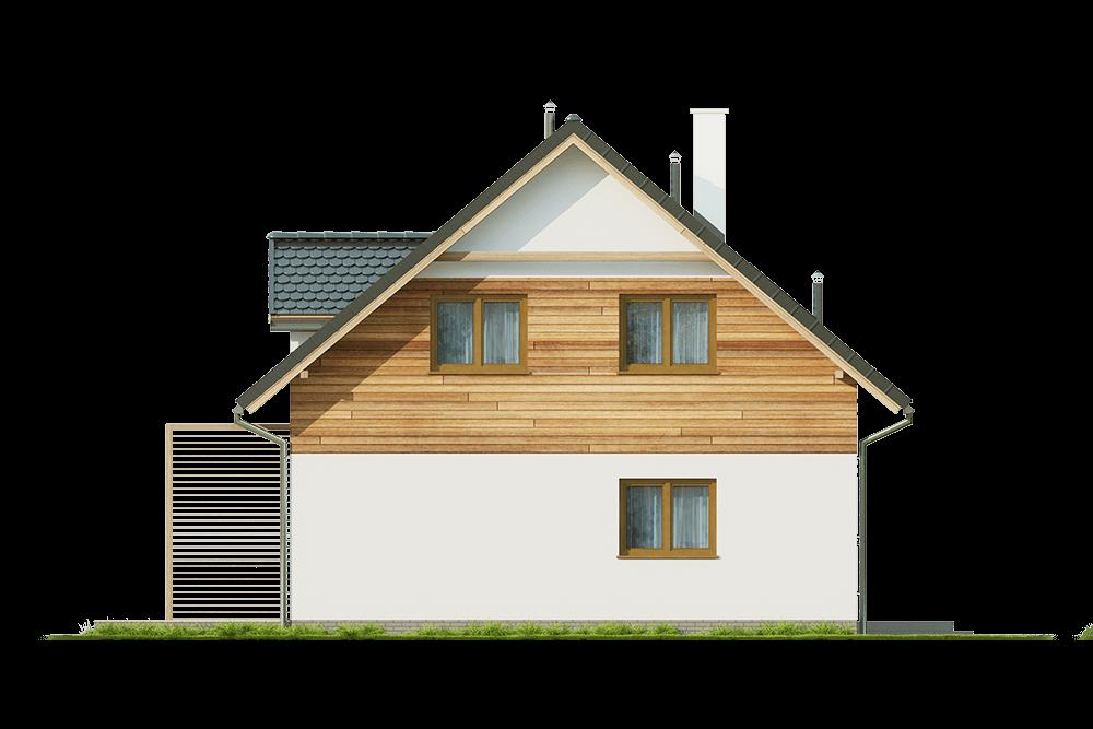 Projekt domu DM-6642 - elewacja