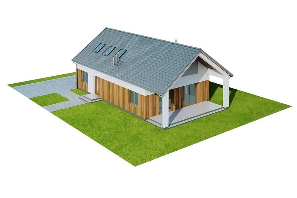 Projekt domu L-6638 - model