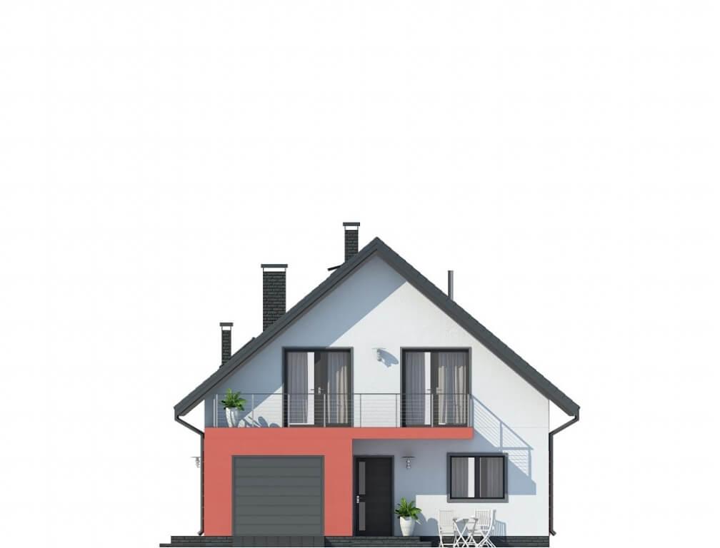 Projekt domu L-6623 - elewacja