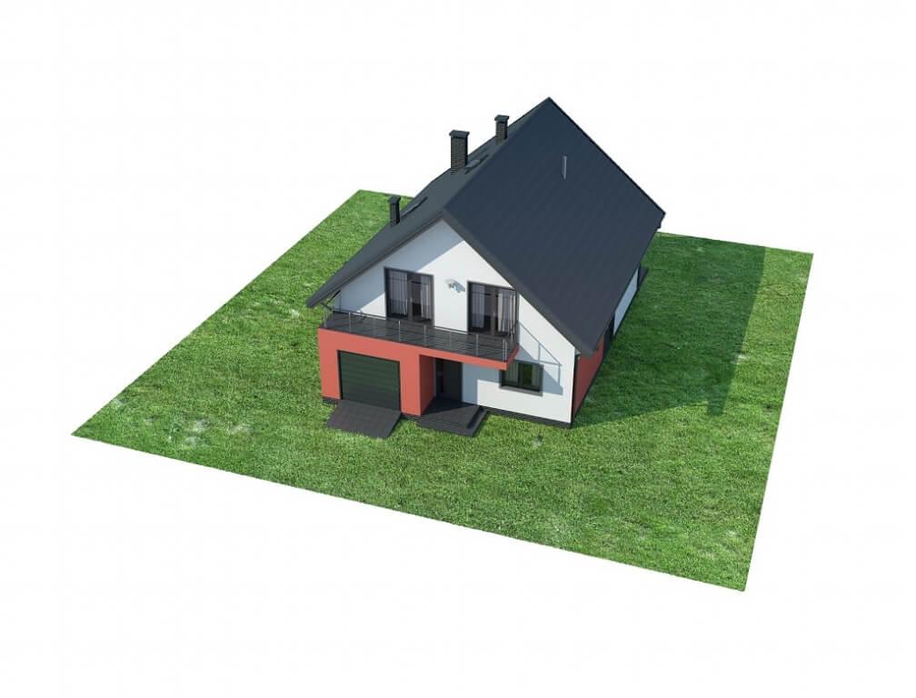 Projekt domu L-6623 - model