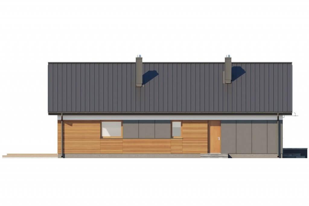 Projekt domu DM-6596 B - elewacja