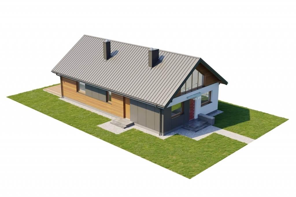 Projekt domu DM-6596 B - model