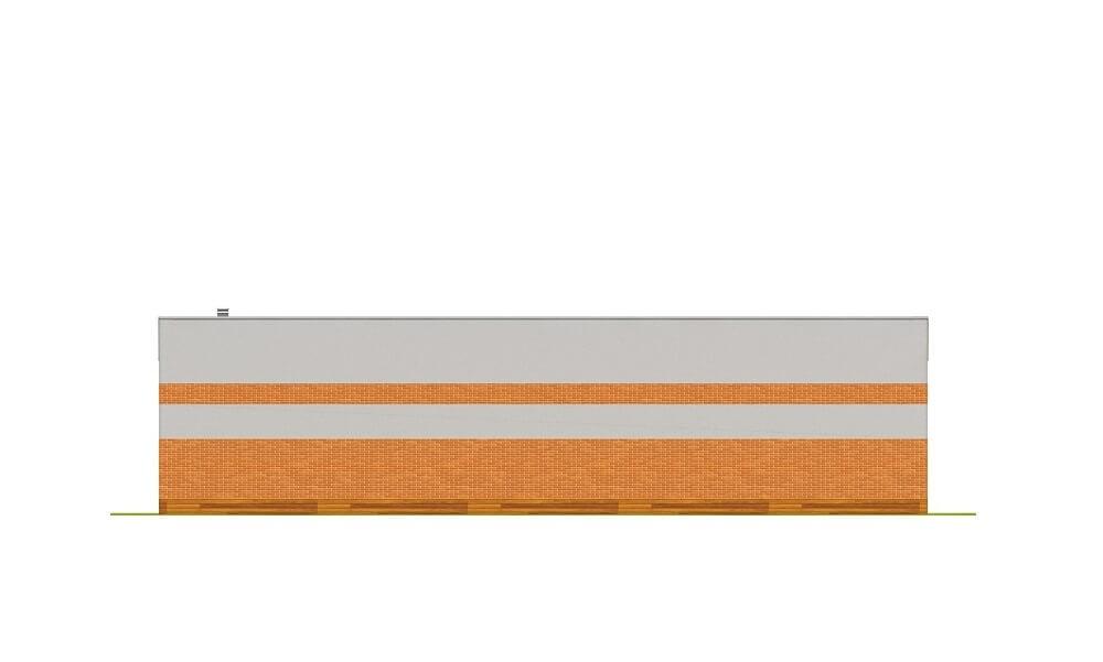 Projekt LZG-98 - elewacja