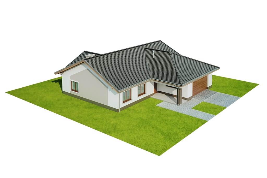 Projekt domu DM-6641 - model