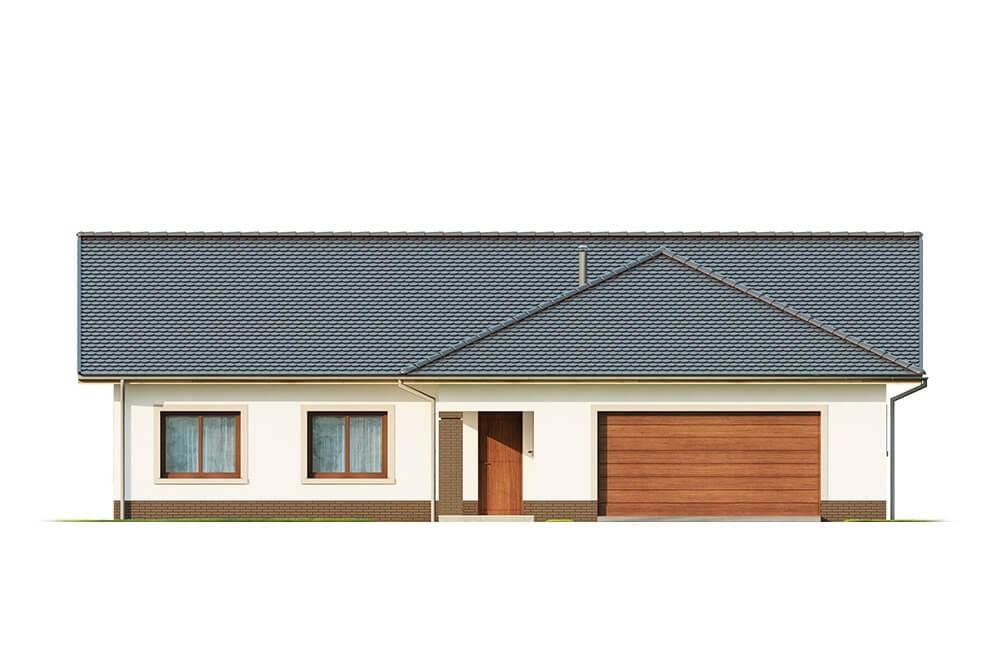 Projekt domu DM-6641 - elewacja