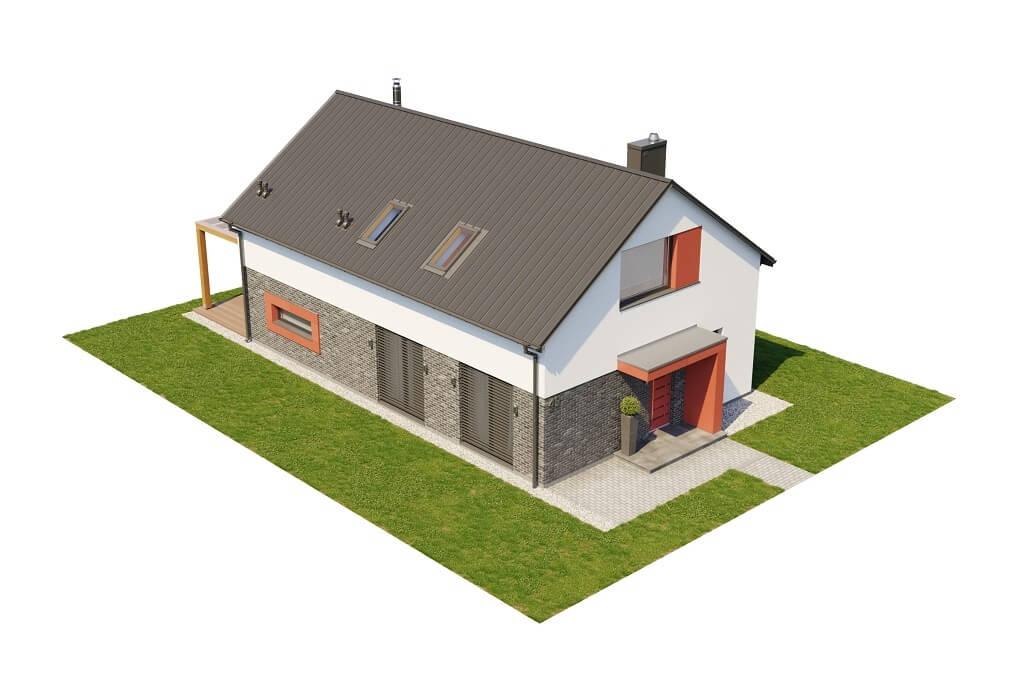 Projekt domu DM-6649 - model