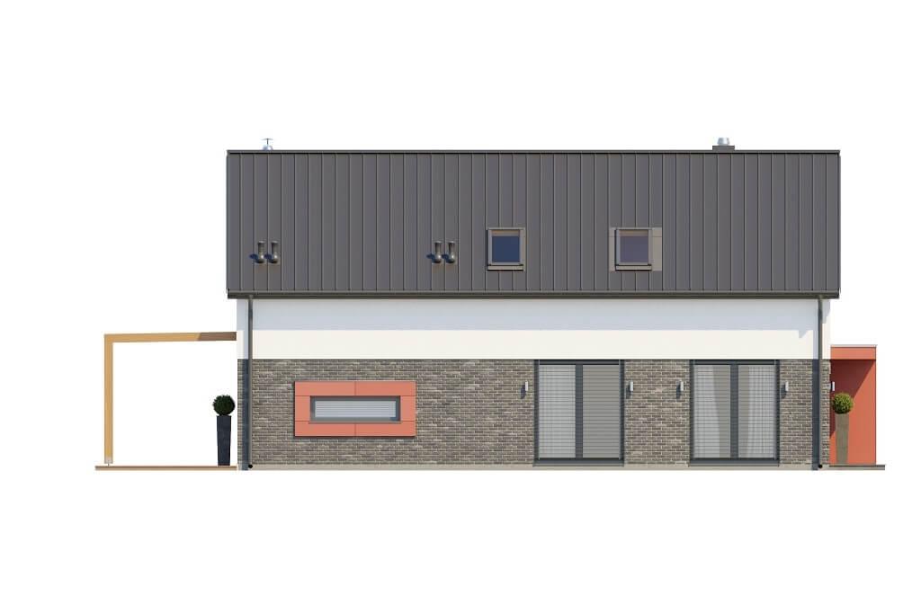 Projekt domu DM-6649 - elewacja